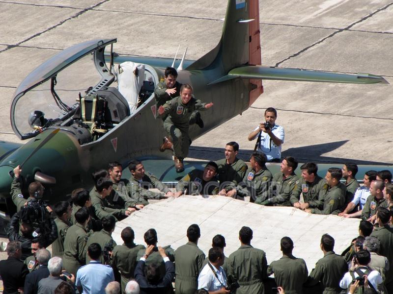 Busca convertirse en la cuarta mujer piloto militar de la Fuerza Aérea IMG_9640