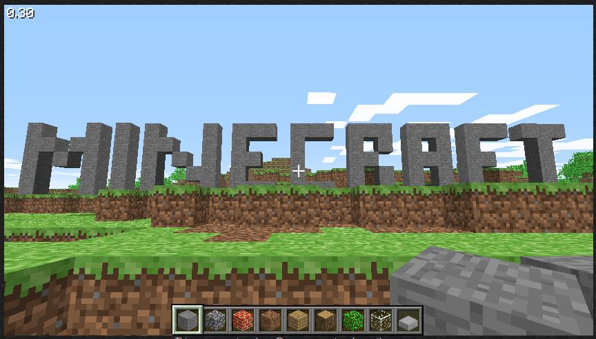 Minecraft à 0.67€ !! MinecraftLogo