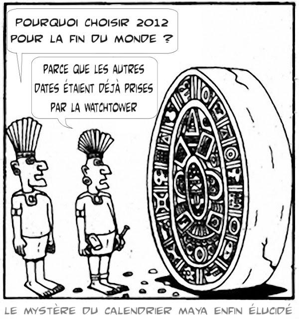 Le paradis sur la terre .. espérance des chrétiens. - Page 25 Watchtower_calendrier_maya