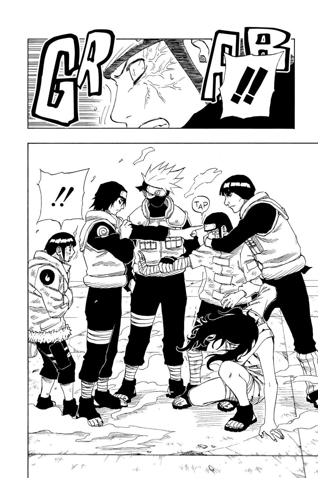 Sasuke já era de nível jonin no final de Naruto Clássico? 0080-016