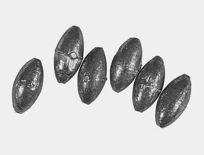 مشكلة الصيد فى الاماكن الصخرية. (الثقل) هنا بعض الحلول Plomb-olive-bombee