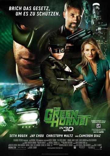 """يلم الاكشن والمغامرات للنجمة """"كاميرون دياز"""" The Green Hornet 2011 بجودة BluRay مترجم على اكثر من سيرفر The-Green-Hornet-2011-poster-1"""