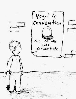 Psychic Phenomena: Why Scientists Deny It?  Psychic-cartoon
