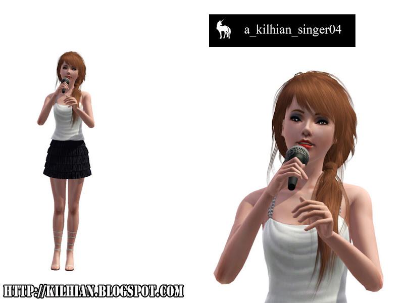 Pose Set N°01 - On Stage! by Kilhian Singer04