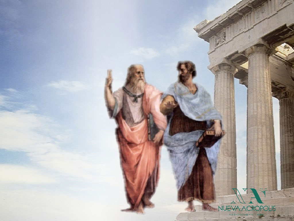 Frases filosóficas que nos inviten a la meditación Platon_aristoteles