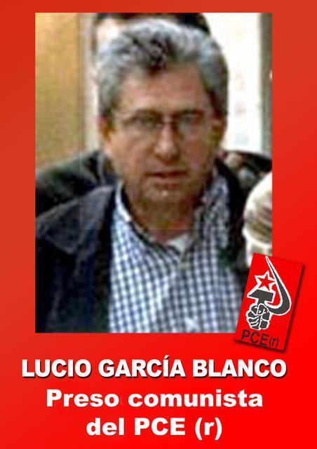 Carta de Lucio Garcia [Preso - PCE (r)] Lucio