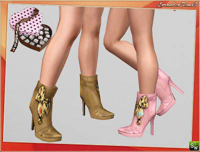 Ankle Boots by Altea127 @ Lorandia LorandiaSims3_Accessories_L_92