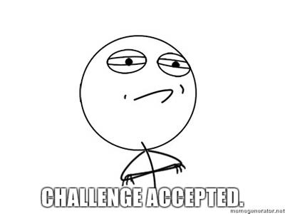 Porque nos gusta tanto jugar al FIFA  :D Challenge-accepted