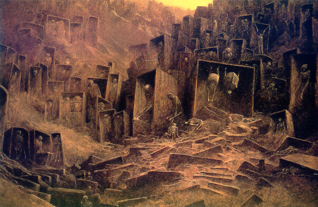 El arte gótico y oscuro de Zdzislaw Beksinski Lj_ZdzislawBeksinski013