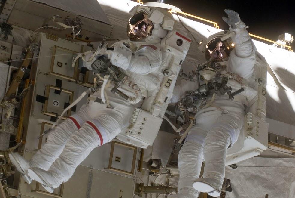 --Работа шаттла на орбите : фотографии-- Shuttle8