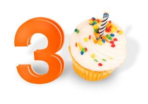 Muy feliz cumpleaños Puffe la lobita Tzek-30aniversario