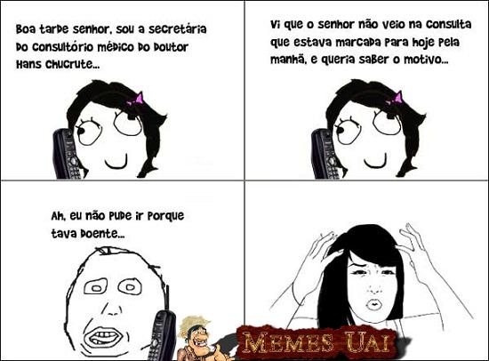 Tirinhas memes - Página 2 Doente