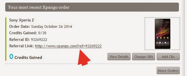 شرح موقع Xpango لربح الاجهزة الالكترونية عن طريق جمع النقاط 6