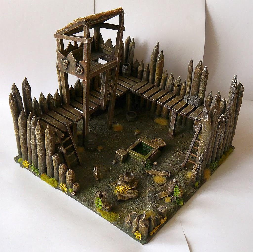 Dwalthrim's smithy - my table and terrain Zrujnowana_straznica_08