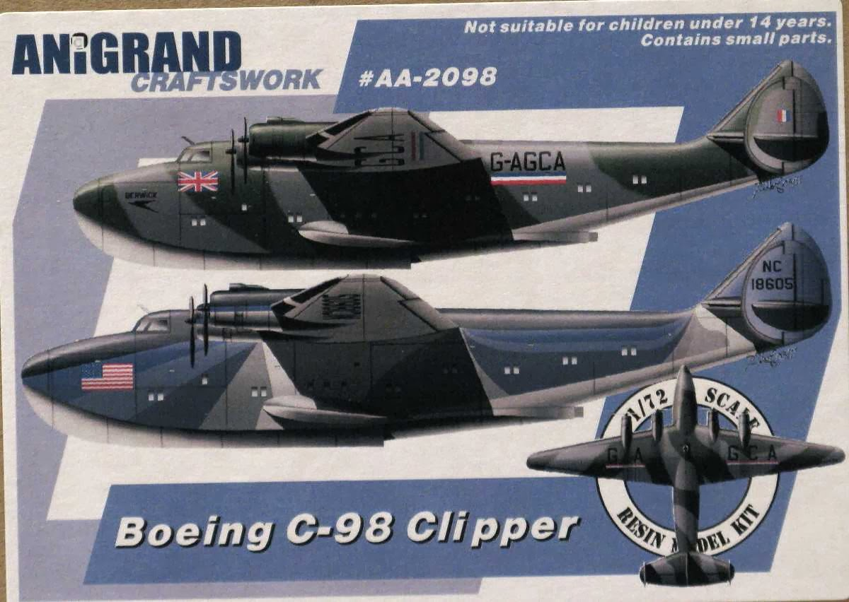 "Boeing 314 ""Dixie Clipper"" 1939-1950 (/1/144 Minicraft) Anigrand_Boeing_314_Clipper"