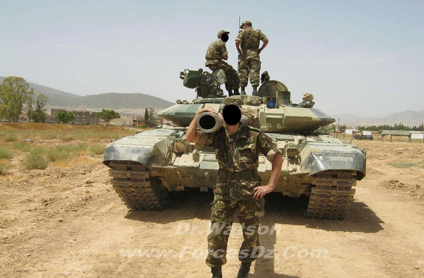 El tanque ruso T-90 T90saalgeria20123