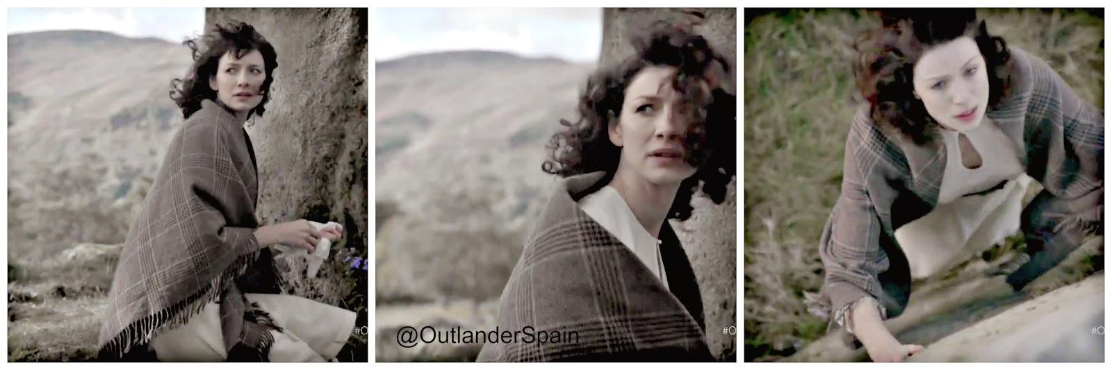 tras las cámaras de Outlander.  1