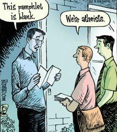 Ateizam: bolest ili? Atheisten