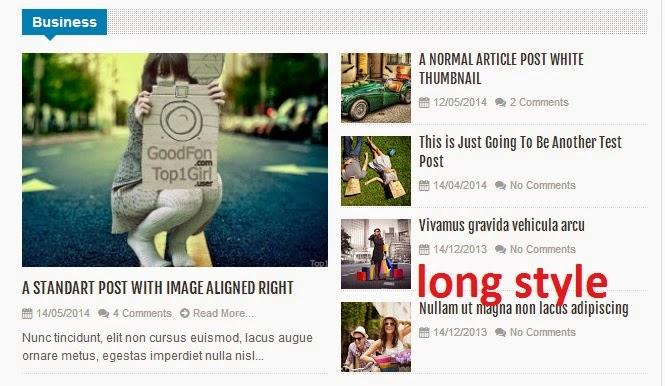 Cách tạo một widget của một nhãn nhất định trong Blogspot? Longstyle