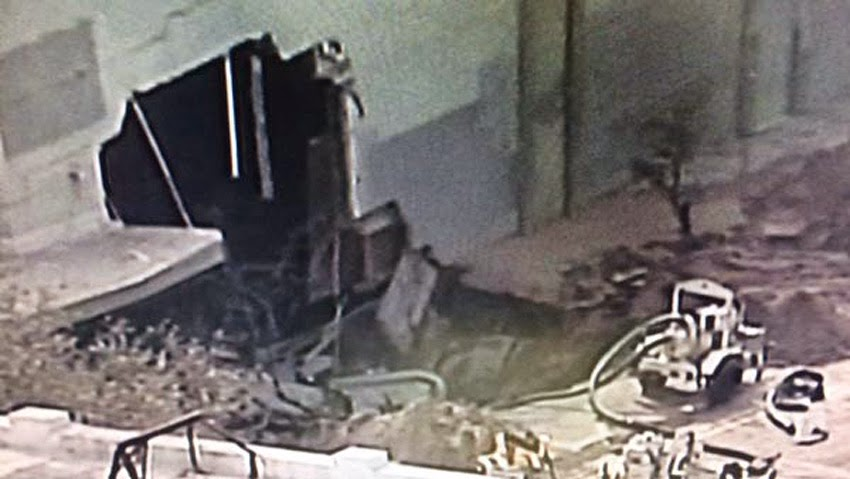 GEOLOGICAL UPHEAVAL: Sinkholes Keep Popping Up Across The United States - Massive Sinkhole Opens Up In St. Petersburg, Florida; Swallows Street Corner And Part Of A Building!  Florida_sinkhole02