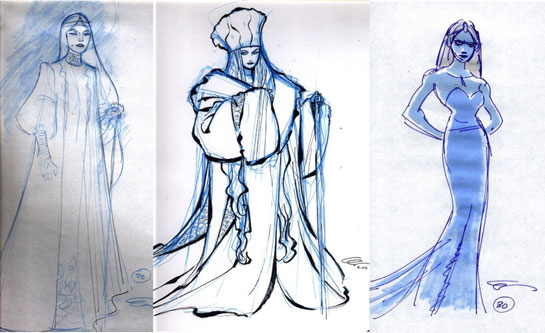 La Reine des Neiges [Walt Disney - 2013] - Page 4 Frozen-disney-concept-art-snow-queen