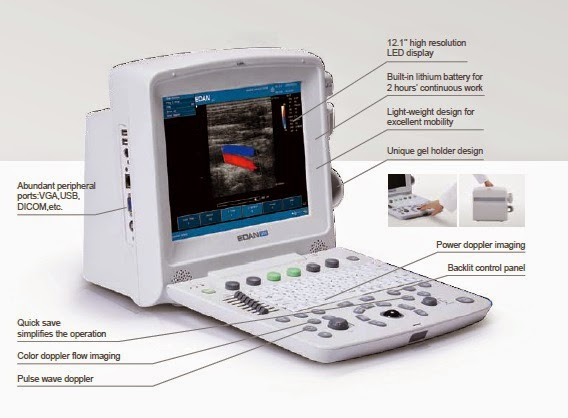USG portable 2 dimensi murah Usg-portable-edan-u50