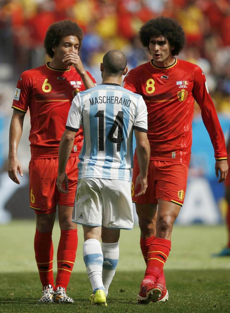 ¿Cuánto mide Axel Witsel? - Real height Masche