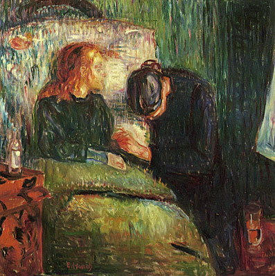 Edvard Munch / Edvard Munk  TheSickChild-by-EdvardMunch-FourthVersion