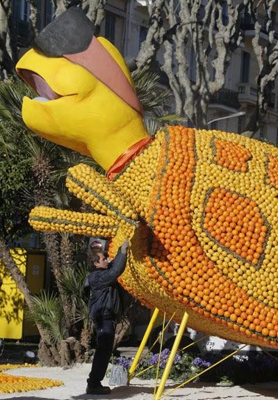 مهرجان الليمون والبرتقال في فرنسا 9