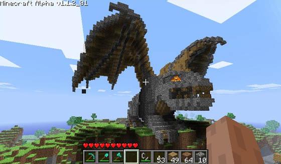 Cuanto se puede hacer en un mundo pixelado? Minecraft_2