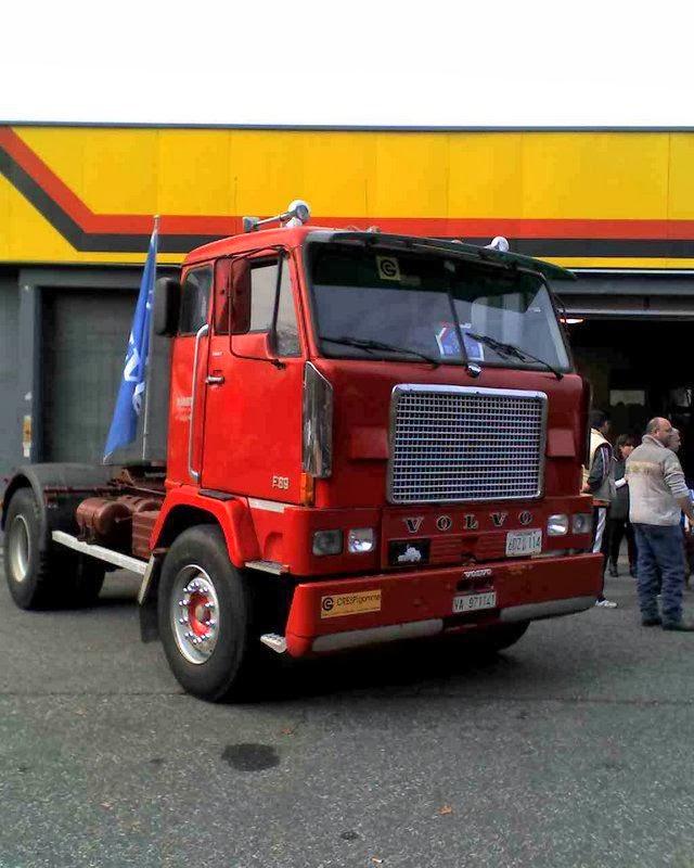 allestimento betoniere su camion Volvo
