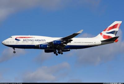 Simulando o voo BA0247: de Heathrow a Guarulhos no Boeing 747  G-CIVW