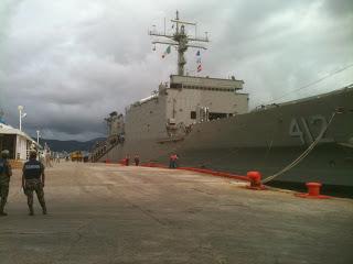 Buques de la Armada de México apoyando zonas de desastres - BOLE3