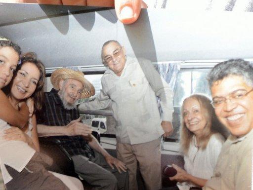 Ex vicepresidente de Venezuela se reúne con Fidel en La Habana  Fidel%2Bpa%2Brato