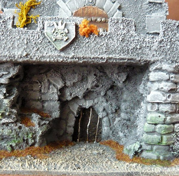 Dwalthrim's smithy - my table and terrain Dt11