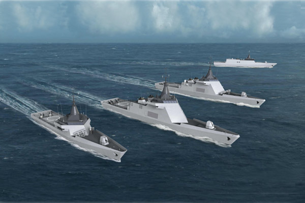 Argentina negocia cuatro DCNS OPV 87 L'Adroit a Francia Agm-158jassm