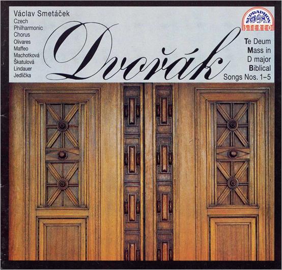 Dvorak - Musique sacrée Dvorak%2Bportada