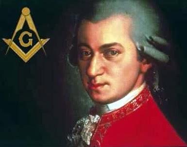 Le secret occulte des stars de la musique comme instrument de séduction et de domination des âmes  Mozart-franc-macon