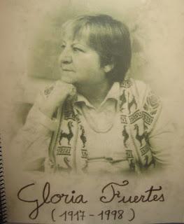 Poesía sobre poesía (Al inicio de la primera página está la lista de autores y obras) GLORIA_FUERTES