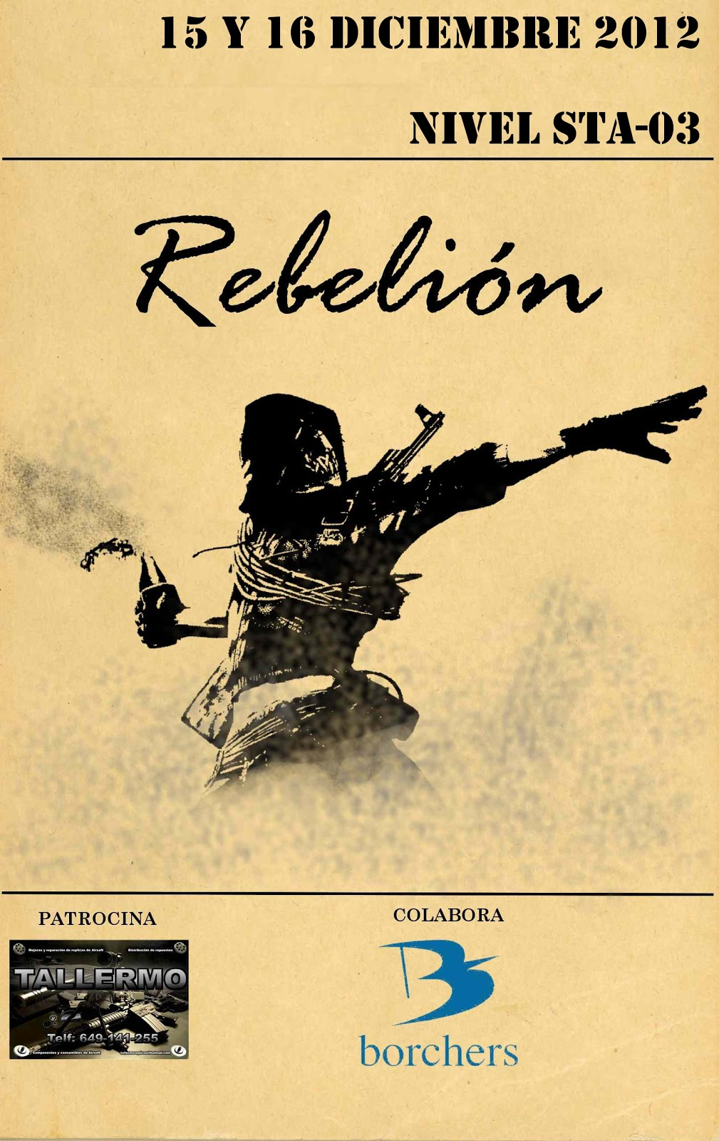STA REBELIÓN  15/16 DIC 2012 Rebelion