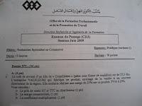 Examens TSC PICT0030