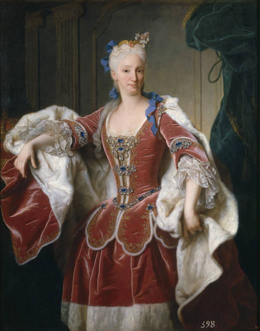 Retratistas del siglo XVIII en el Museo del Prado [Vol. I] Jean%2BRanc%252BIsabel%2Bde%2BFarnesio