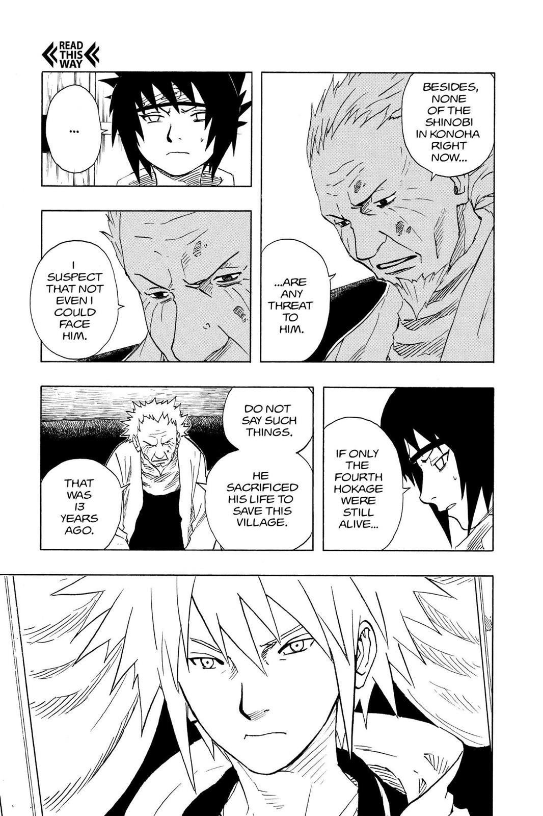 Mais poderoso do que você imagina #1: Orochimaru 0094-007