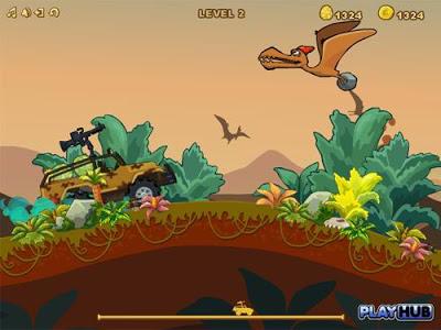تحميل أفضل 10 ألعاب خفيفة و ممتعة للكمبيوتر  Dinosaur-hunter