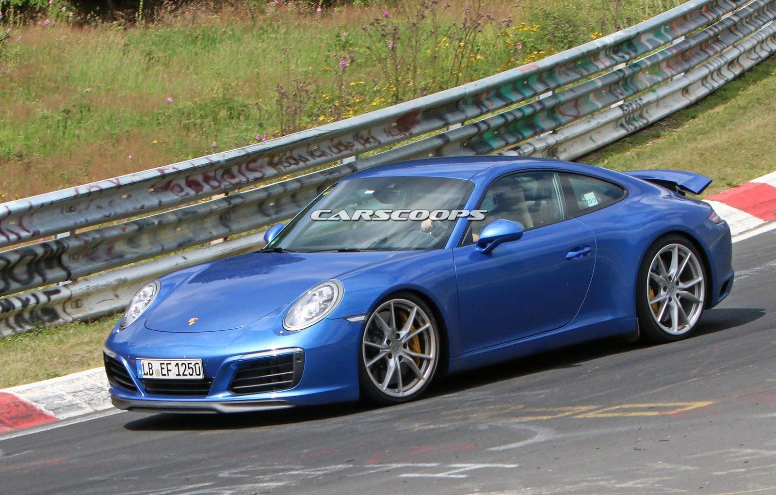 2015 - [Porsche] 911 Restylée [991] - Page 6 2017-Porsche-911-Face5