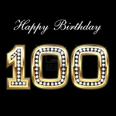 Happy Birthday Den 10836997-100th-happy-birthday