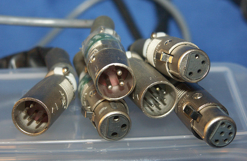 Pinchazos en la rueda del motor, conector rápido. TIPOS%2BDE%2BXLR