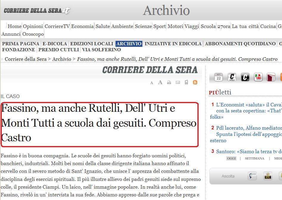 """Jesuit International"": Van Rompuy, Monti, Draghi y Rajoy Immagine"