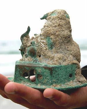 """Descubren objeto """"sobreviviente"""" de naufragio del siglo XVI Perro%2Bde%2BFo"""