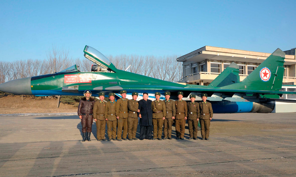 Corea - Corea del Norte MiG-29